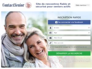 rencontre d'une femme de cinquante et plus avec ContactSenior
